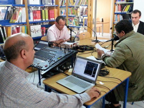 A Agadir, formation radio FLE à l'Institut Français