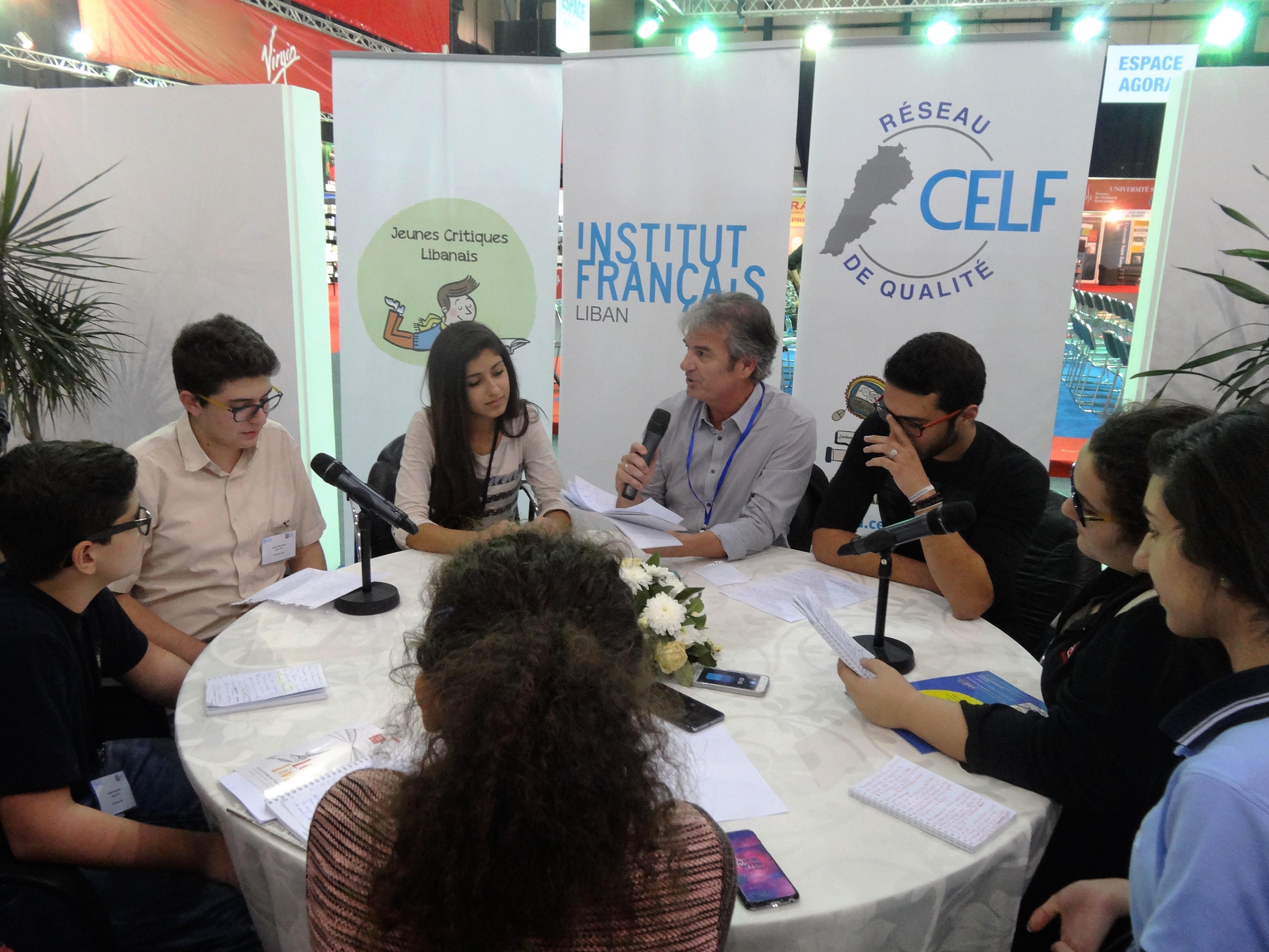 Webradio à l'Institut Français du Liban