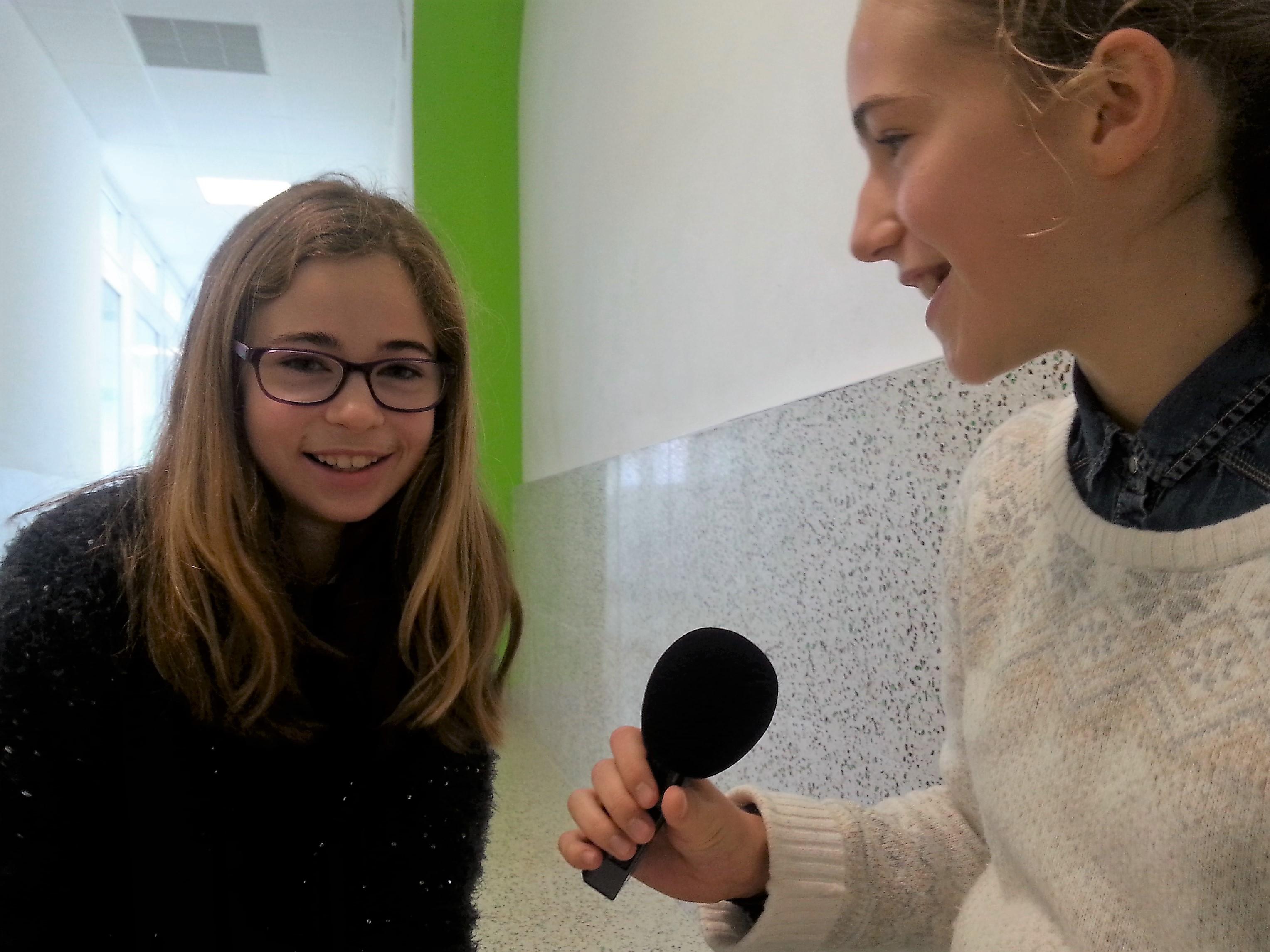 Reportage radio au Lycée français de Barcelone