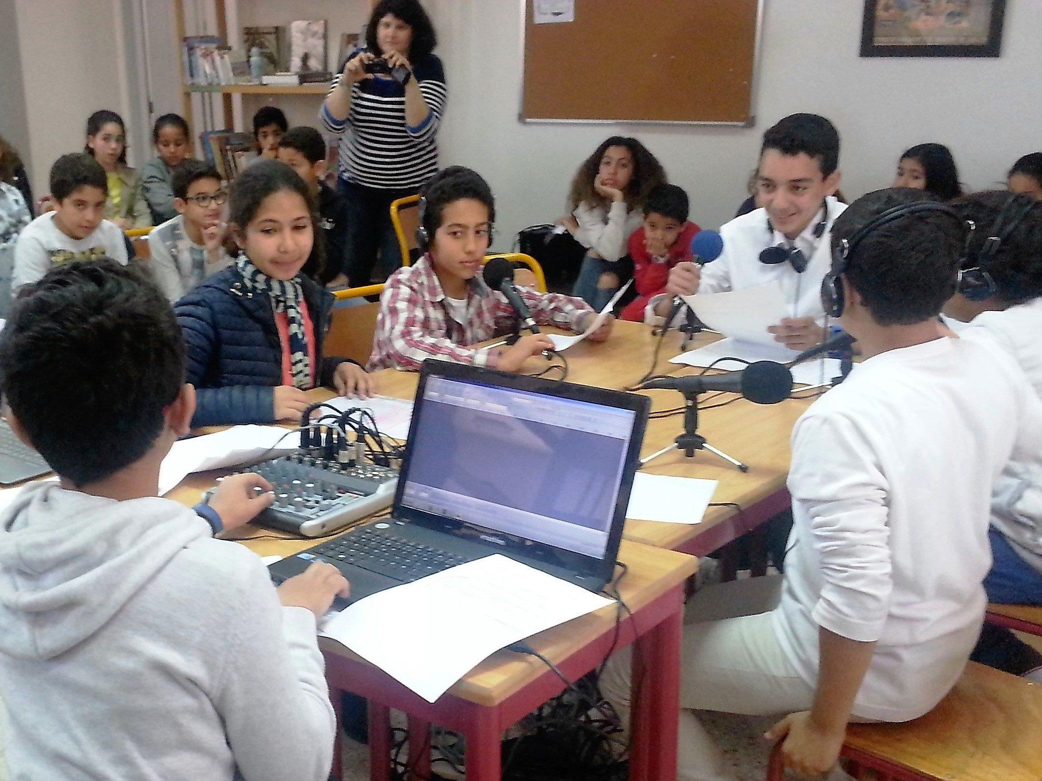 Webradio au collège MLF de Marrakech