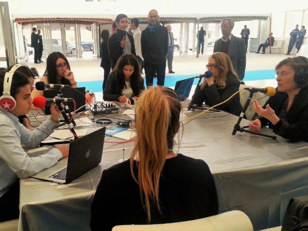 A Casablanca, la webradio du congrès de la Mission Laïque