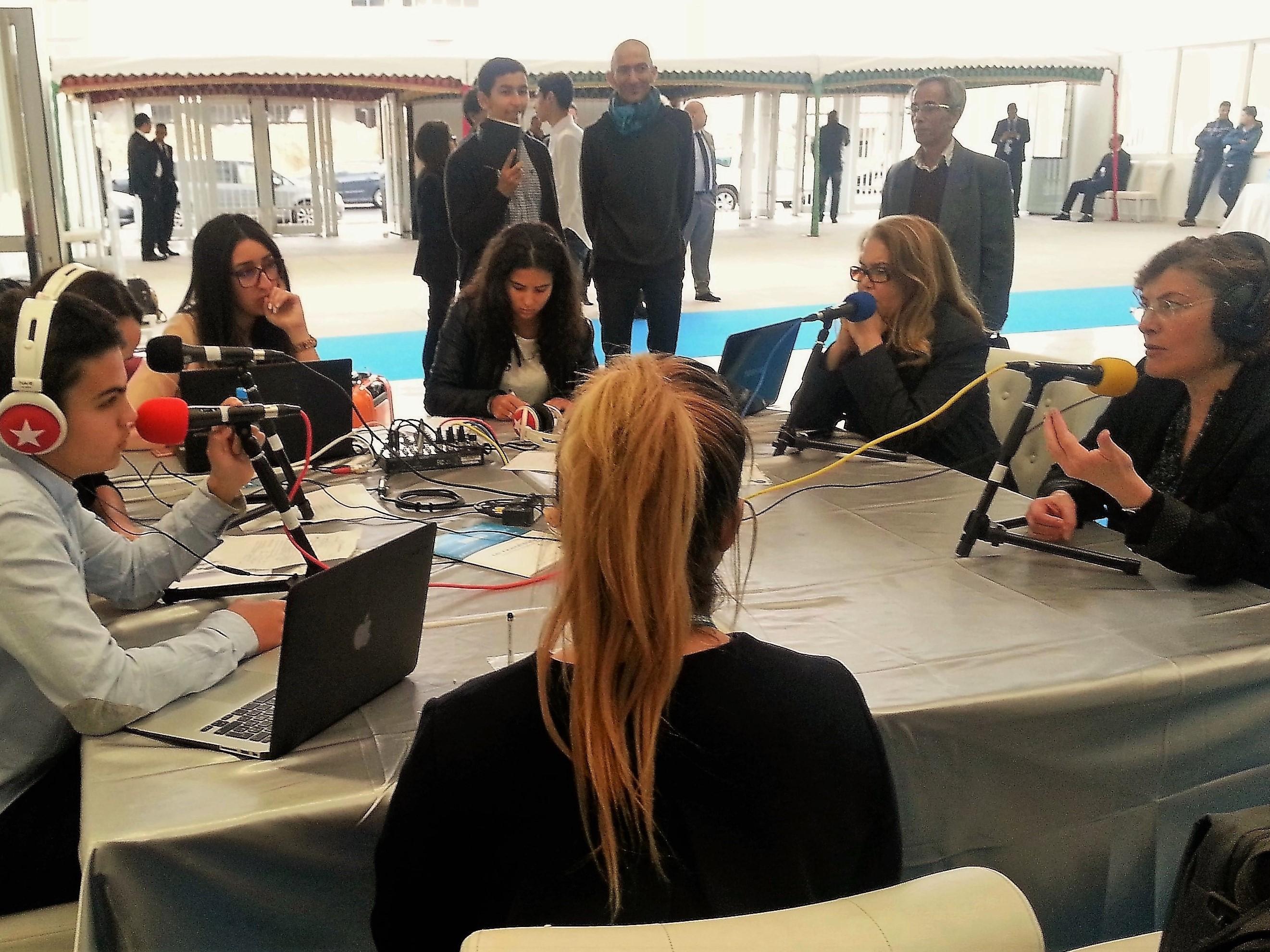 Webradio du congrès de la Mission Laïque à Casablanca