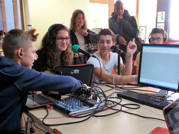 A Montpellier, formations webradio dans les lycées de l'académie