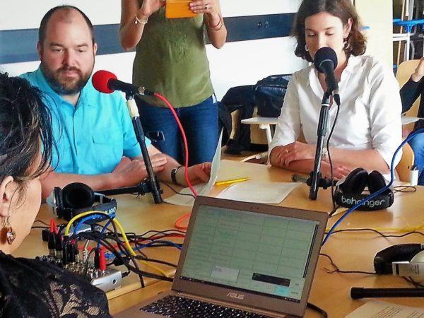 A Genève, formation radio pour des enseignants de collège