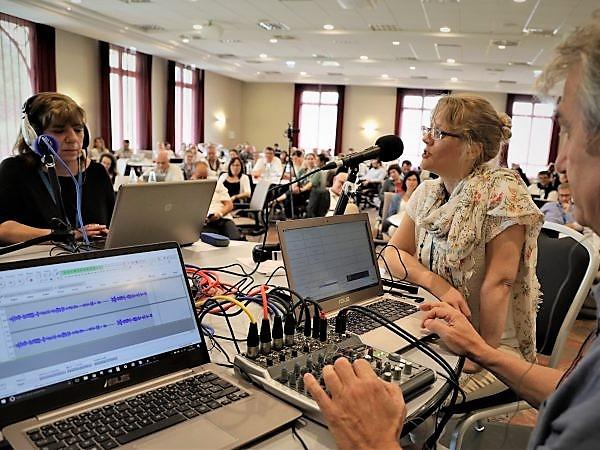 Master class webradio scolaire à Chantilly