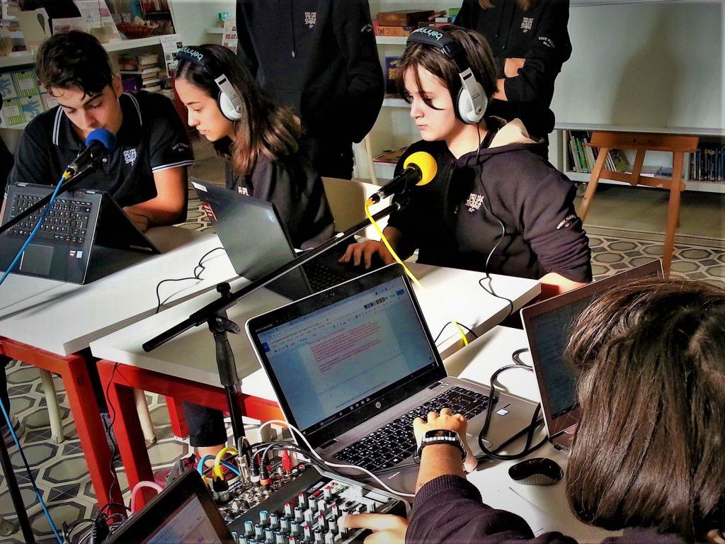 A Istanbul, webradio FLE au lycée Sainte-Pulchérie