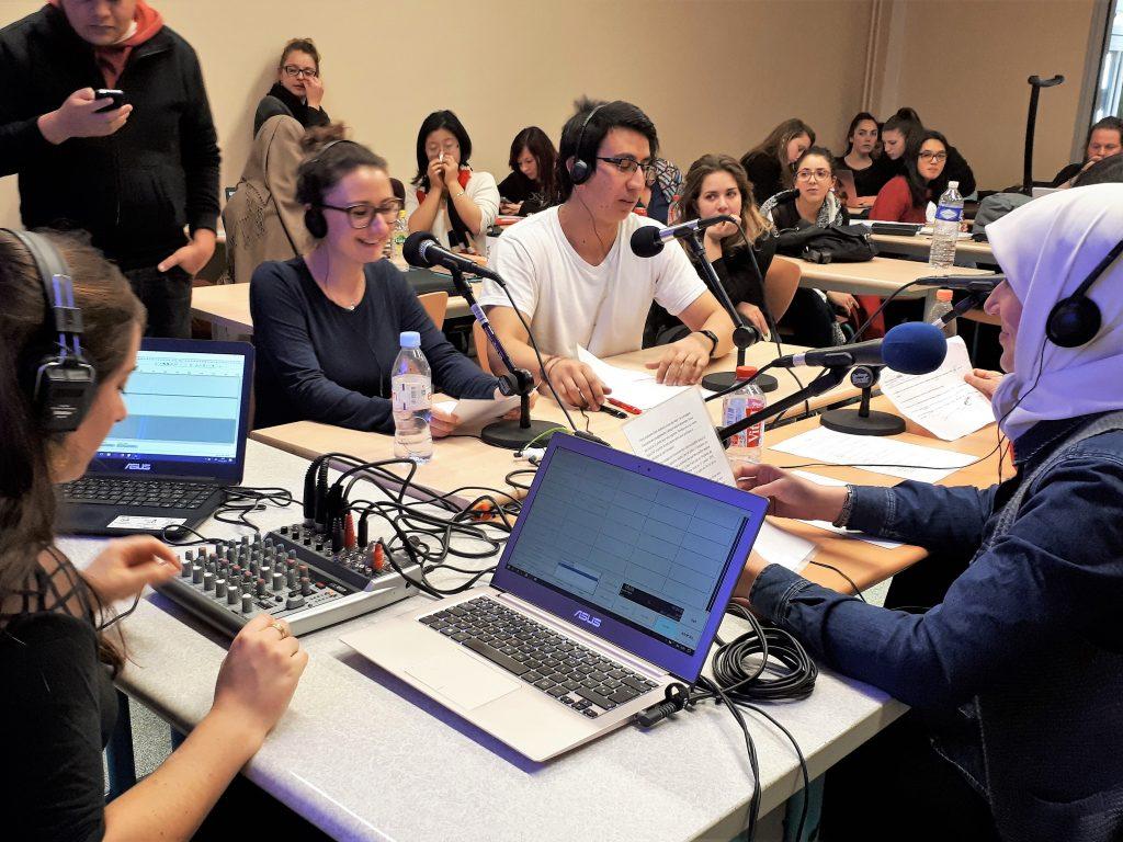 Université de Montpellier, webradio en Master FLE