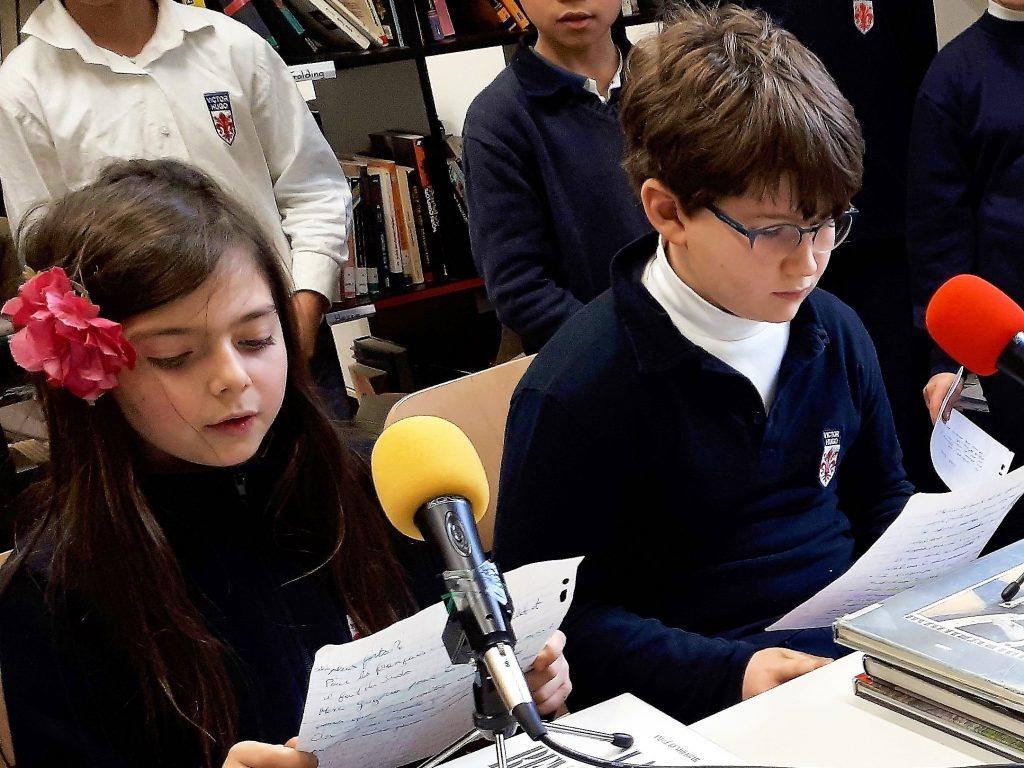 A Florence, webradio à l'école française Victor Hugo