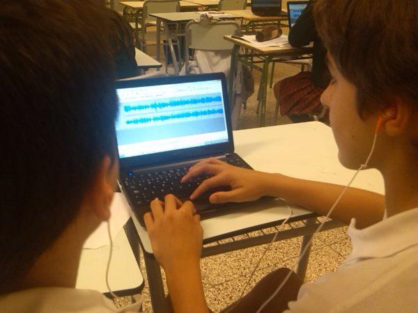 A Bilbao, formation podcast webradio au lycée français