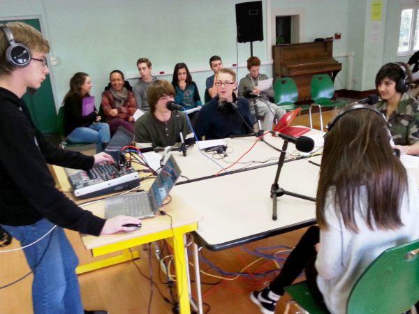 Webradios lycéennes dans l'académie de Montpellier