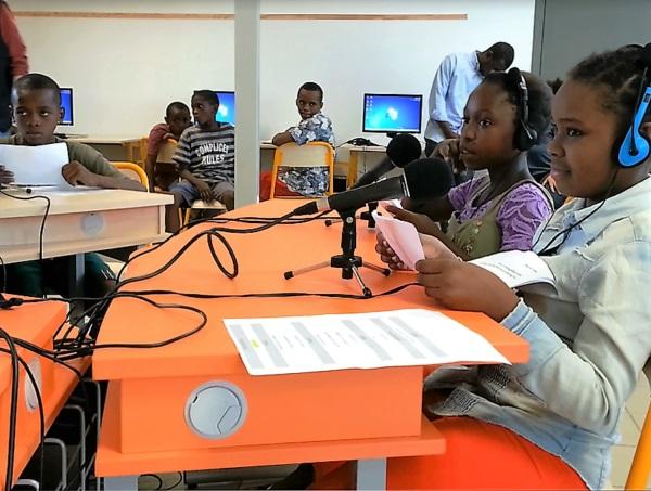 A Mayotte, formation webradio FLE en collège