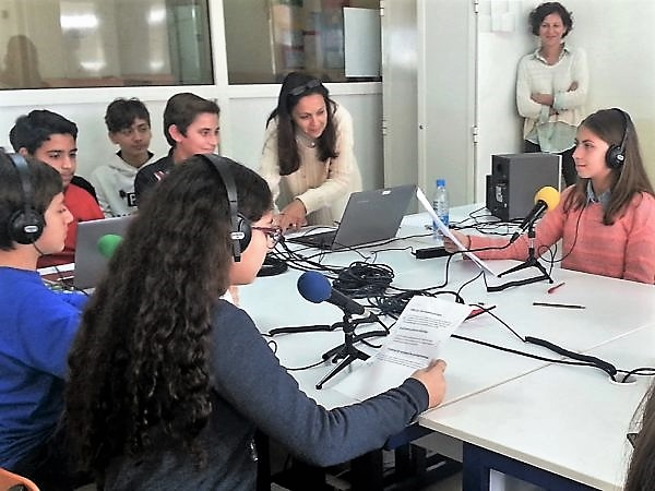 Au Liban, en 4ème au lycée français de Tripoli