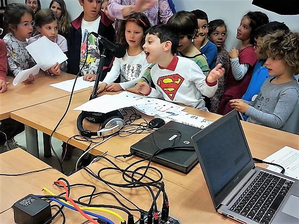 A Valladolid, webradio à l'école primaire française