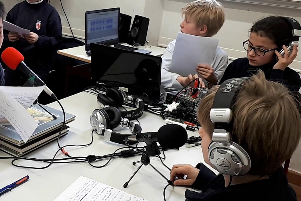 Techniciens Webradio scolaire Florence