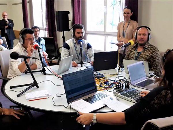 2ème Master class webradio pour enseignants, à Chantilly