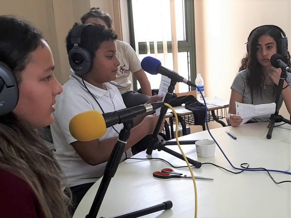 Webradio collège Le Caire