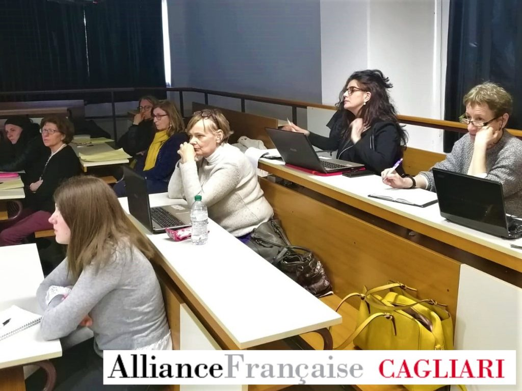 En Sardaigne, atelier webradio FLE avec l'Alliance Française