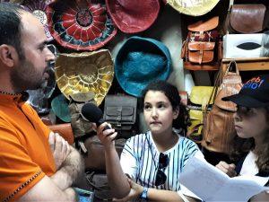Au Maroc, 1ères Rencontres webradio scolaire du réseau Osui