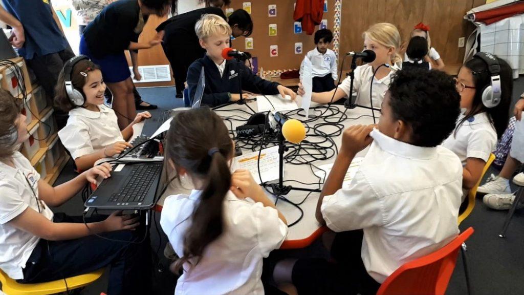 Bilinguisme Webradio primaire