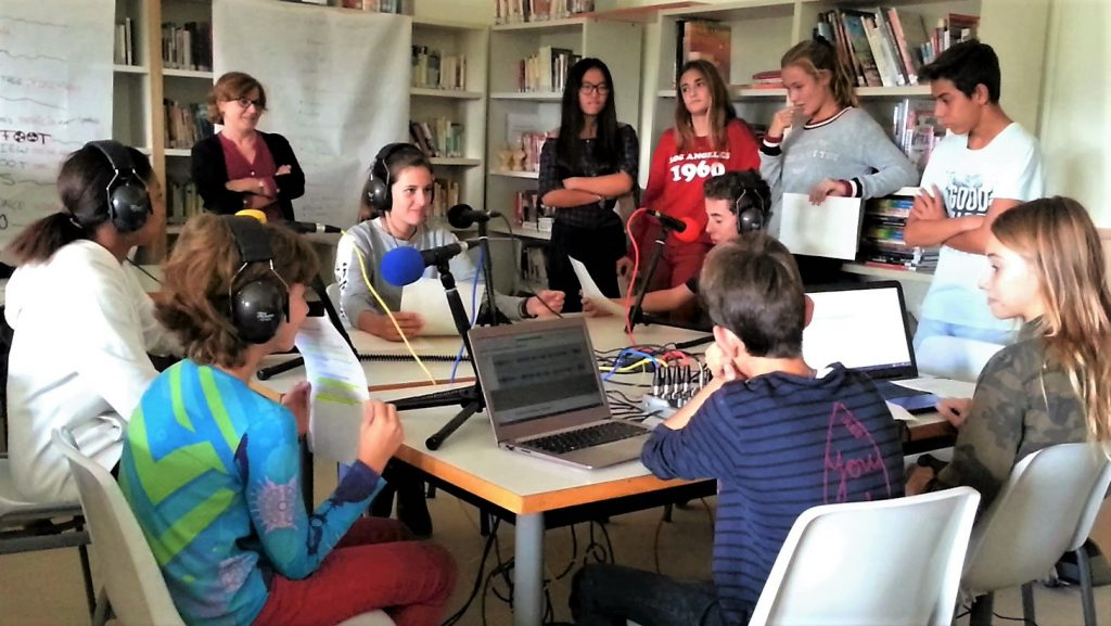 l'atelier webradio.fr Collège Catalogne