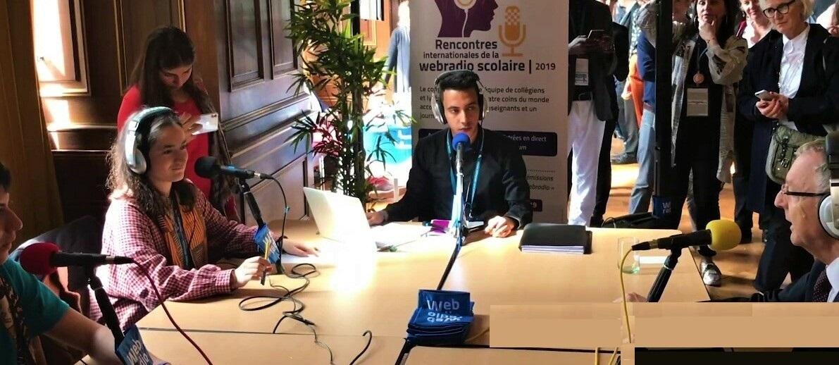 2èmes Rencontres Internationales de la Webradio Scolaire, à Paris