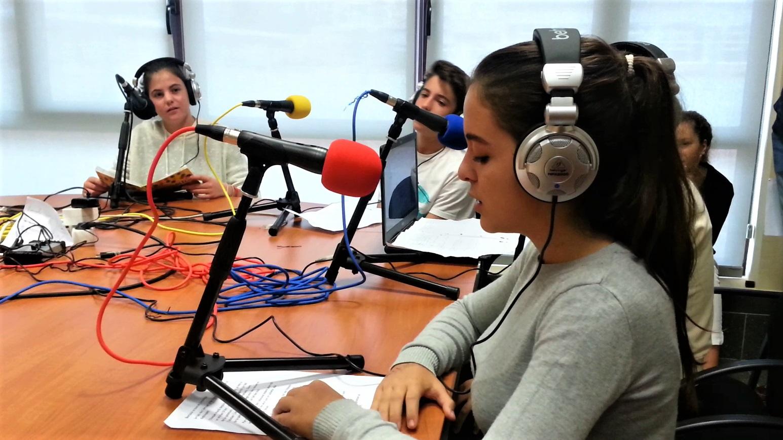 Emission d'élèves de seconde à Villanueva de la Cañada