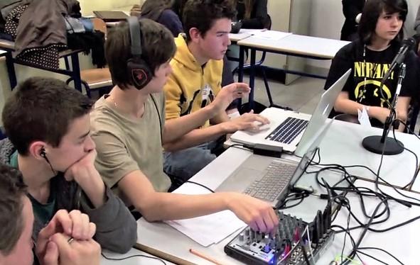 Webradio- lycée
