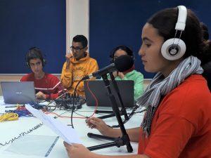 A Agadir, plurilinguisme au lycée français, avec une classe de 4ème