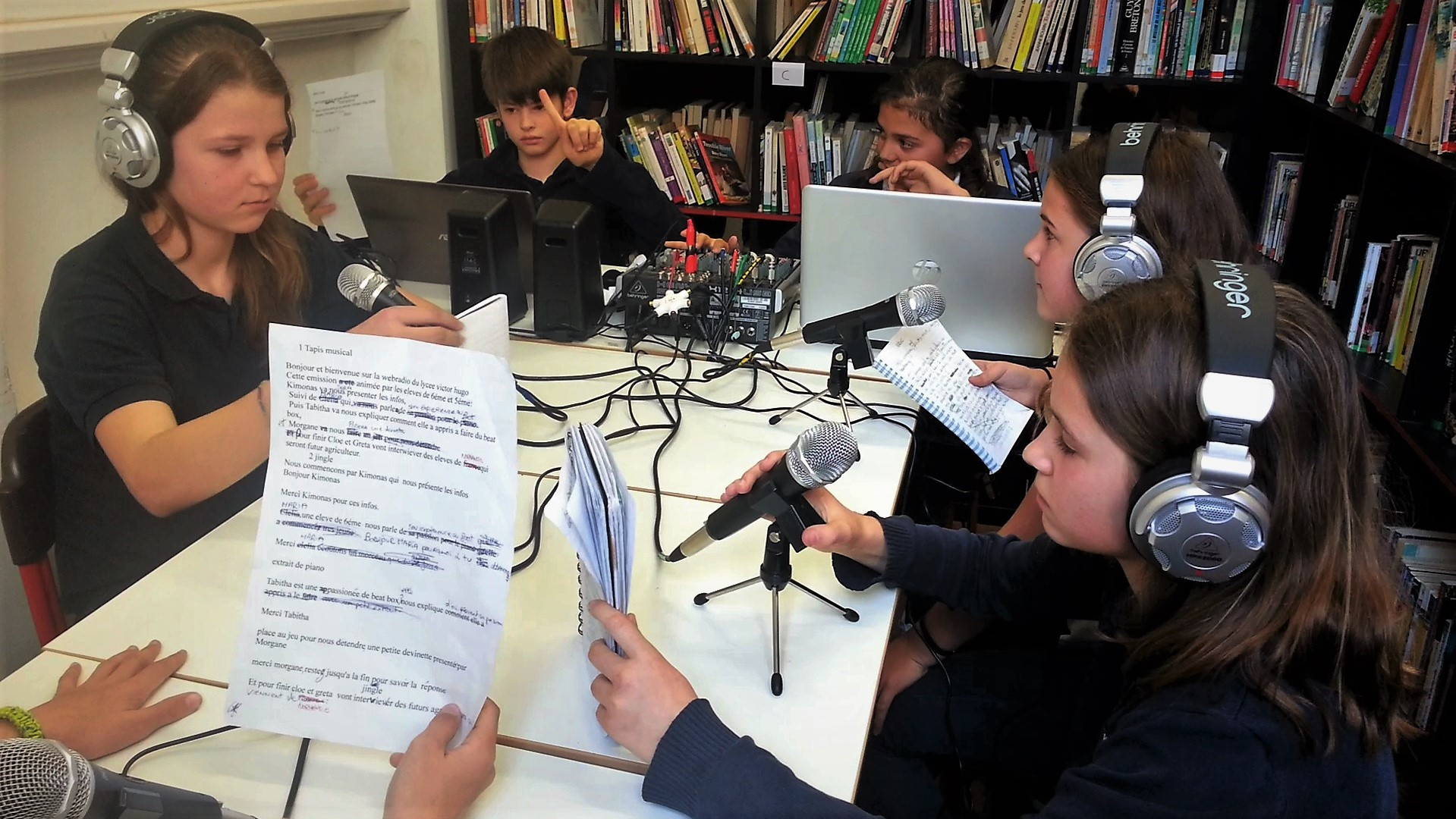 Webradios scolaires et universitaires