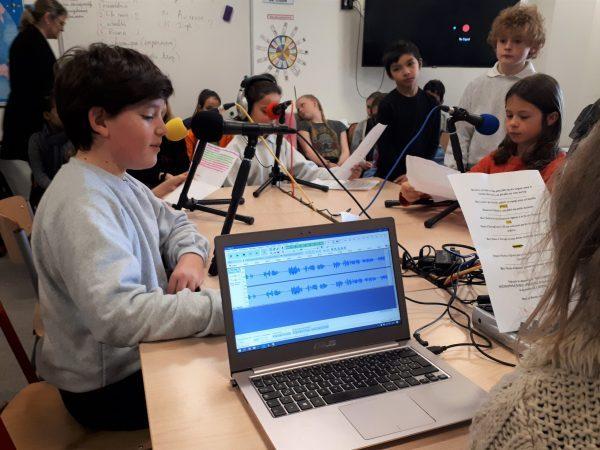 Webradio scolaire franco anglaise