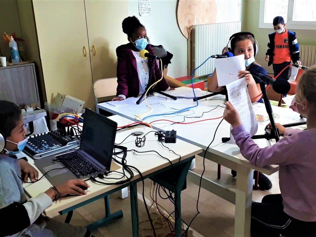 Formation webradio et podcast pour des animateurs socioculturels